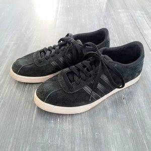 Adidas Neo Black Suede Sneakers